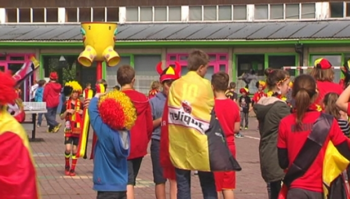 Duffelse basisschool kleur zwart-geel-rood