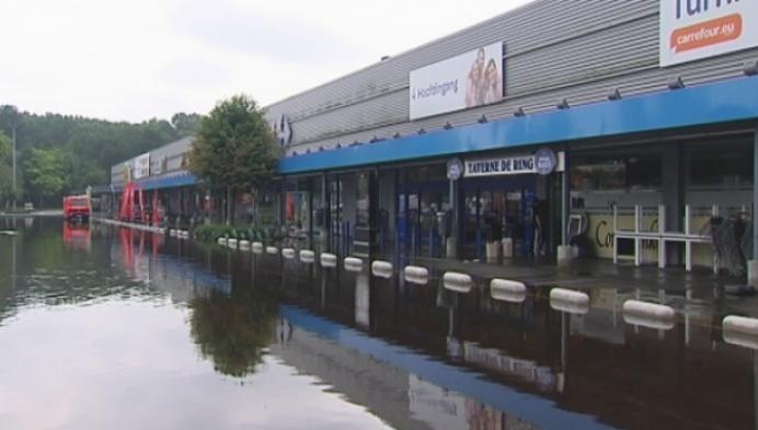 Turnhout likt wonden na felle regen