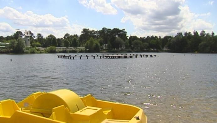 Zwemmen verboden in zwemvijver Zilverstrand in Mol