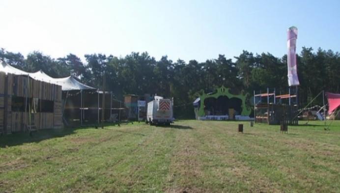 Gitannekesfoor Herselt klaar om 6000 festivalgangers te ontvangen