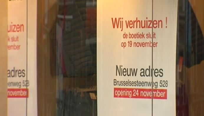 Kledingwinkel Damart trekt weg uit centrum Mechelen
