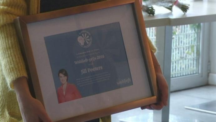 Weervrouw Jill Peeters uit Putte wint Wablieft-prijs