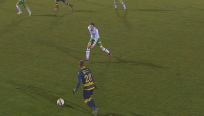 Dessel mist in de slotfase penalty tegen de Kielse Ratten