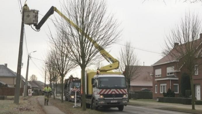 Grote omleiding voor werken aan fietspaden Lille