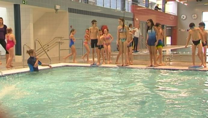 Laatste testen in nieuw zwembad van Turnhout