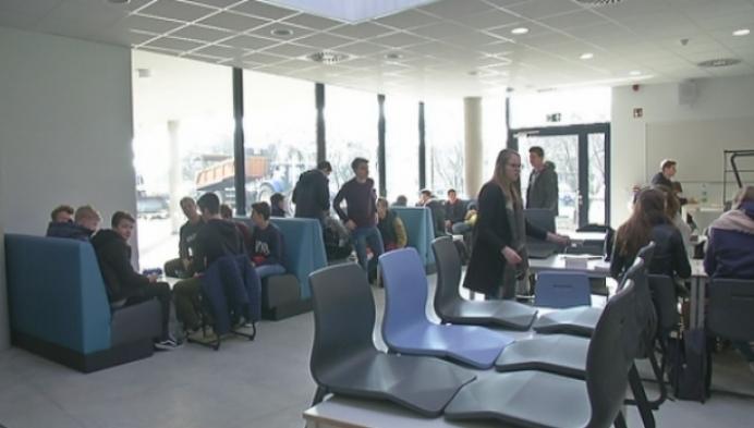 'De Club' in nieuwe blok van Sint-Dimpnacollege