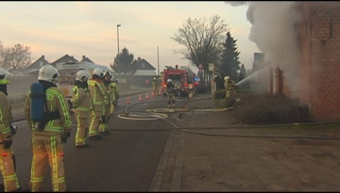 Woning in Morkhoven onbewoonbaar na uitslaande brand
