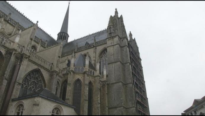 Werken aan Sint-Gummaruskerk worden niet snel hervat