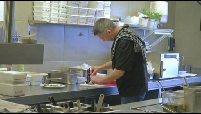 Sterrenchef Centpourcent kookt met quinoa