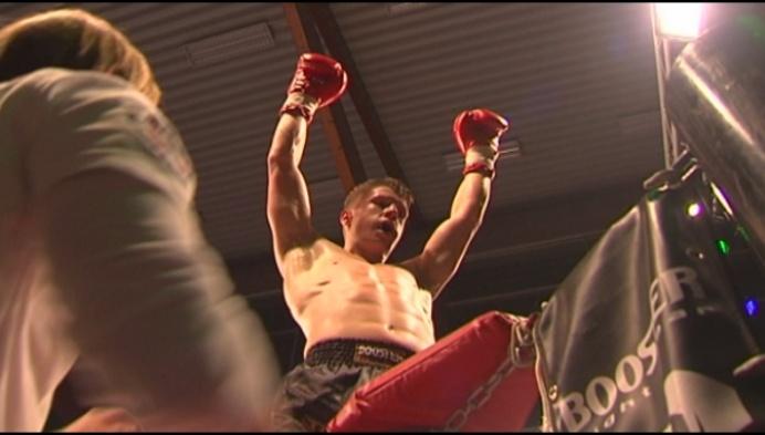Vincent Gloris wint prestigekamp thaiboks in Turnhout