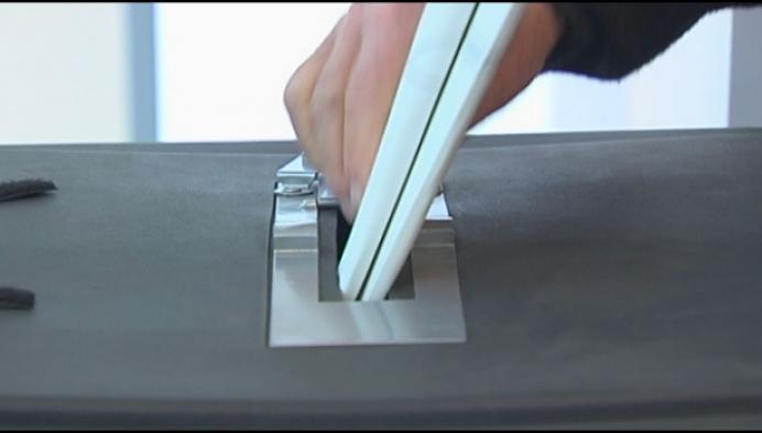 Hoge opkomst voor Nederlandse verkiezingen in Baarle