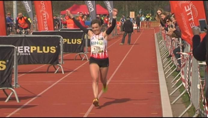Els Rens en Bart Verschoren winnen de marathon van Lier