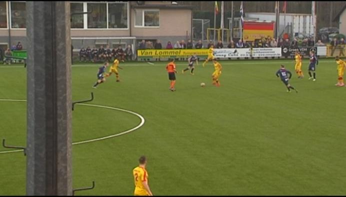 Oosterzonen klopt Oudenaarde met 2-0 en is zeker van het behoud