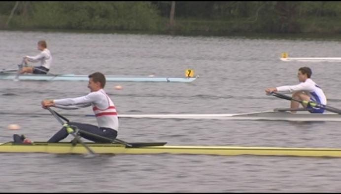 Brent De Bleser en Tom De Borger zijn 2 en 4 op BK skiff