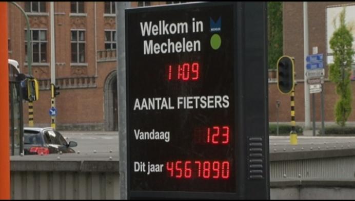 Mechelen wordt een echte fietsstad, cijfers bewijzen het