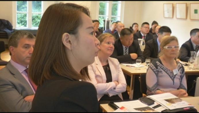Chinese zakenlui willen investeren in Willebroek