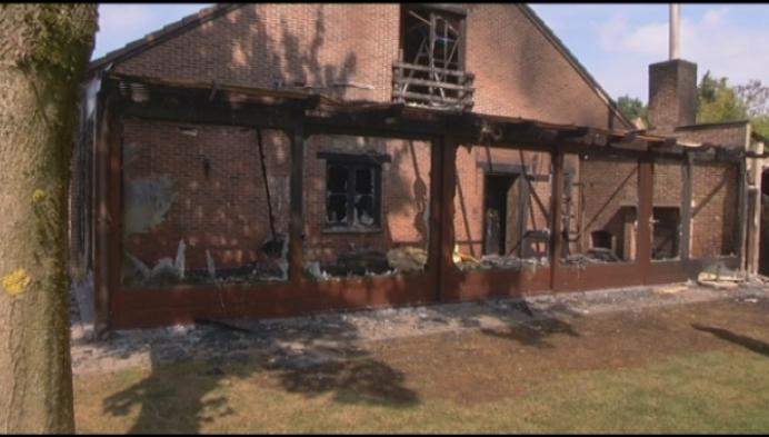 Uitbaters 't Lilshof aangeslagen na zware brand