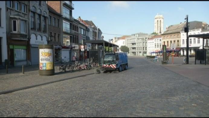 10 buslijnen tijdelijk niet op Veemarkt