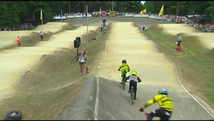 Mathijs Verhoeven wint manche Flanders Cup BMX in Ravels