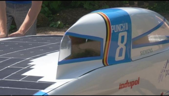 Lichtste zonnewagen ooit naar Solar Challenge