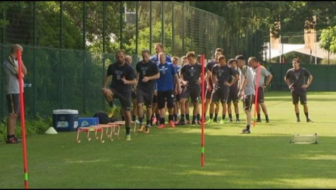Vedran Pelic leidt eerste training Westerlo