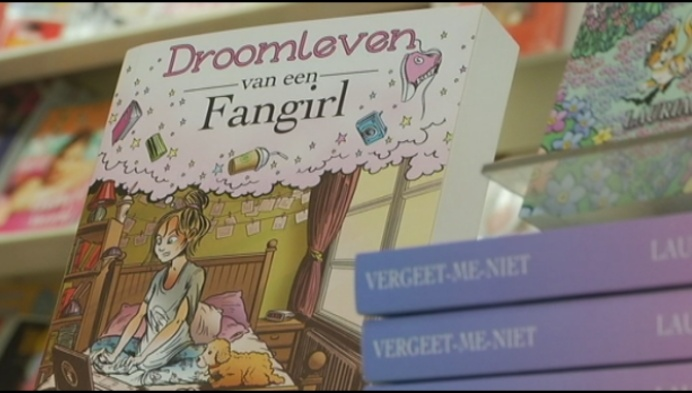 Herentalse studente schrijft Fan-fictie-boeken