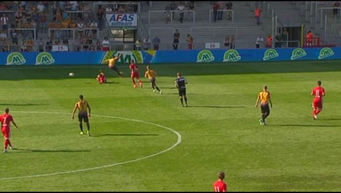 Experiment met videoref tijdens KV Mechelen - Olympiakos