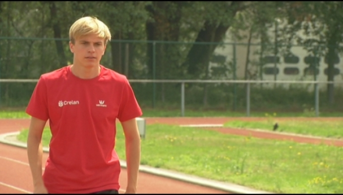EK atletiek: eerste grote afspraak voor junior Simon Verherstraeten