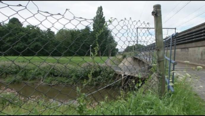 Fietsbrug over Kleine Nete 2 weken dicht