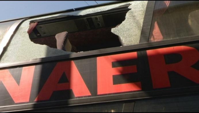 Mechelse buschauffeur maakt aanval Antwerphooligans mee