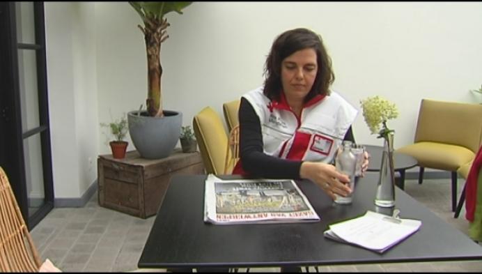 Herentalse vrijwilligster Rode Kruis verleent bijstand na aanslag