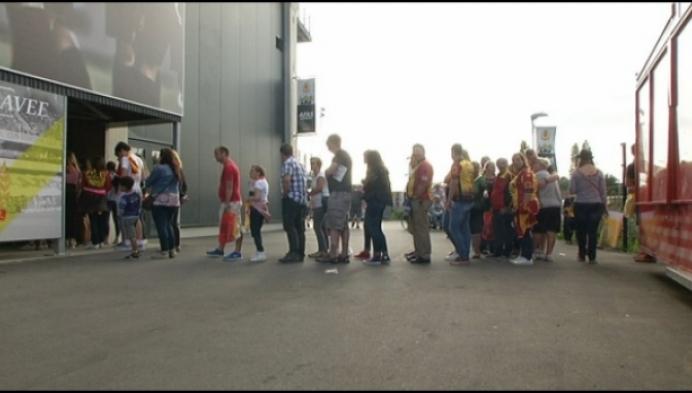 Duizenden supporters op fandag van KV Mechelen