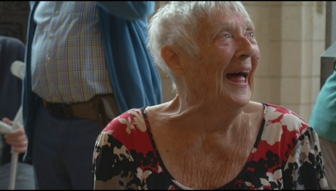Mechelen viert 90-jarige Jo Leemans