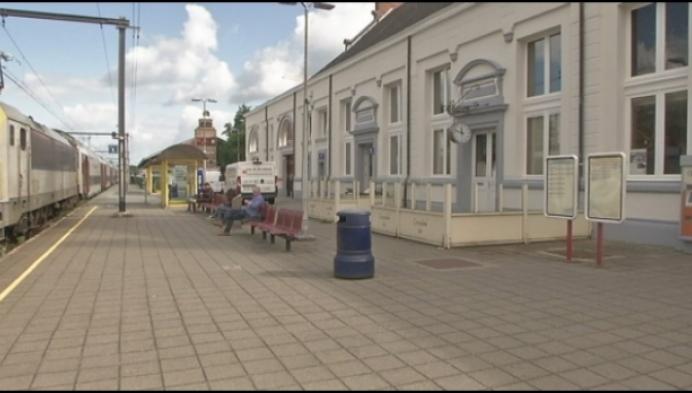 Turnhouts Stationbuffet sinds vorige week dicht