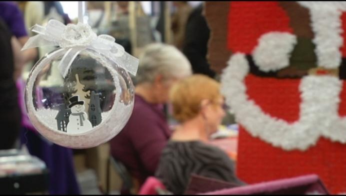 Nu al kerstballen knutselen op 25ste hobbysalon in Nekkerhal