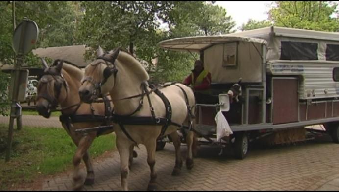 Koppel maakt onvergetelijke road-trip met paard en kar