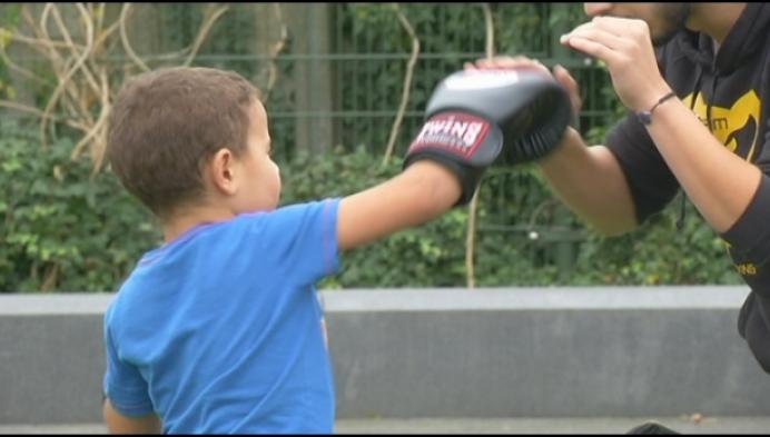 """""""Beginnen boksen om iets met mijn leven te doen"""""""