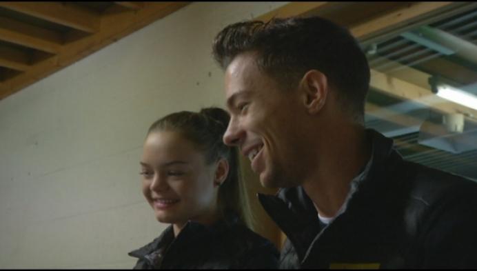Jorik en Loena Hendrickx samen naar de Winterspelen