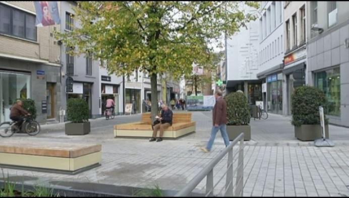 Vernieuwde Boucherystraat verlengt Mechels handelskerngebied
