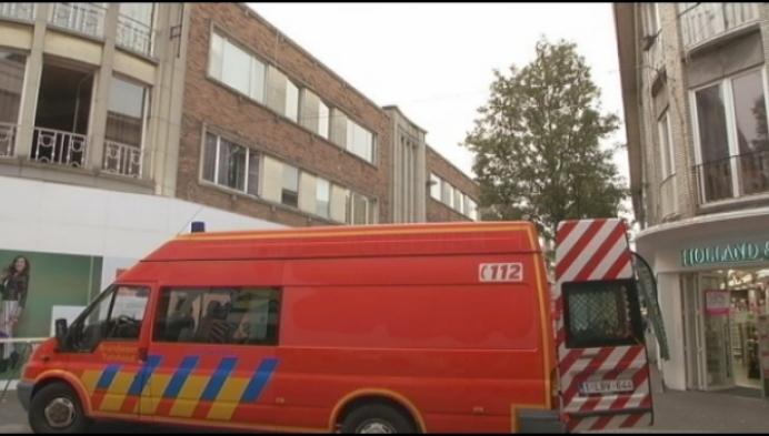 Turnhouts winkelcentrum afgesloten door gaslek