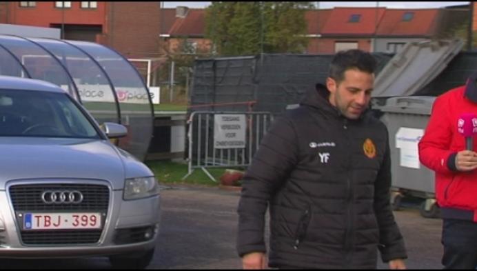 Yannick Ferrera staat onder zware druk bij KV