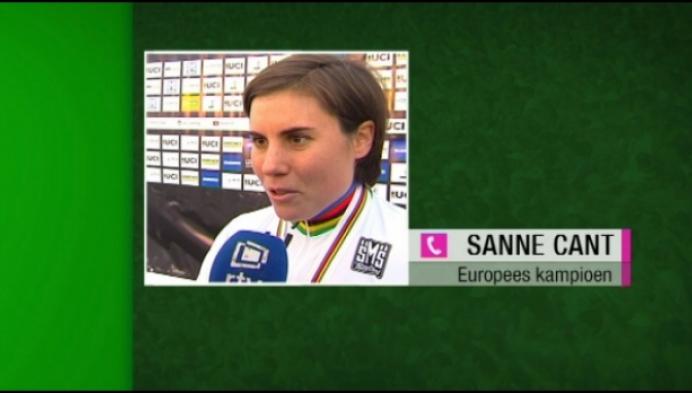 Sanne Cant Europees kampioene veldrijden