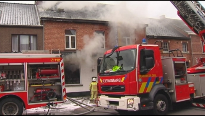 Chinees restaurant verwoest door felle brand