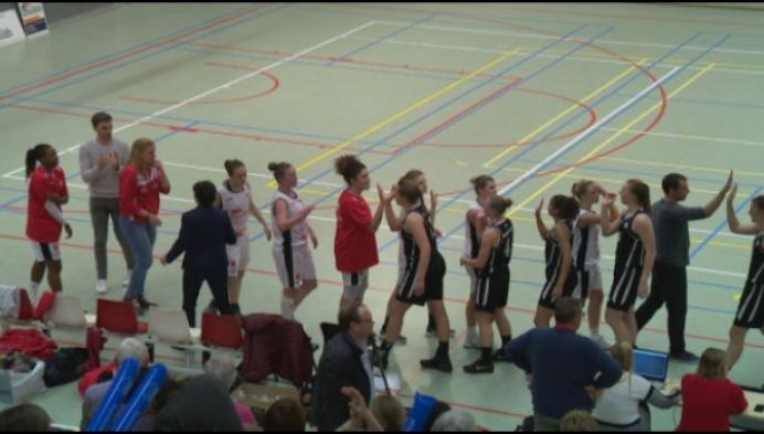 Katelijne wint de baskettopper tegen Waregem