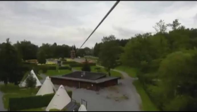 Zipline wordt nieuwste attractie in Zilvermeer