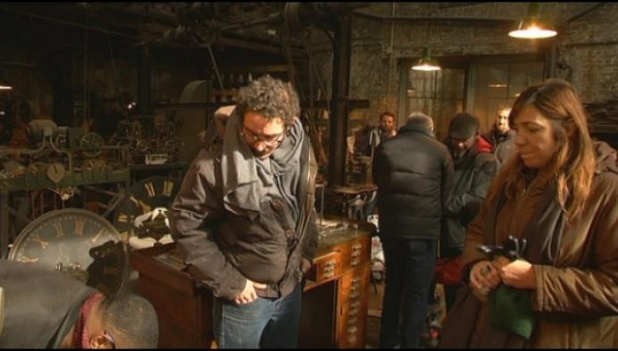 Klokkenspecialist Michiels wordt decor voor nieuwe tv-reeks
