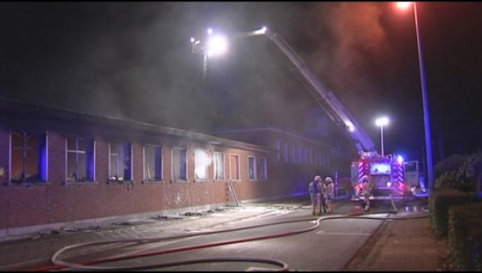 Brand vernielt opslagplaats van Mols college