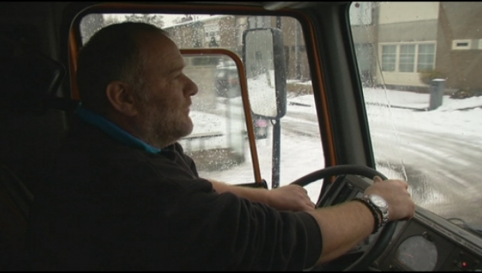120 ton zout op Mechelse wegen en voetpaden