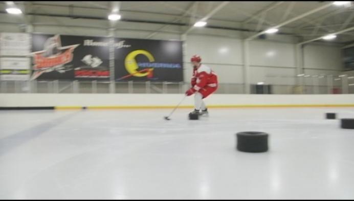 14-jarige Kempens ijshockeytalent maakt het in Duitsland