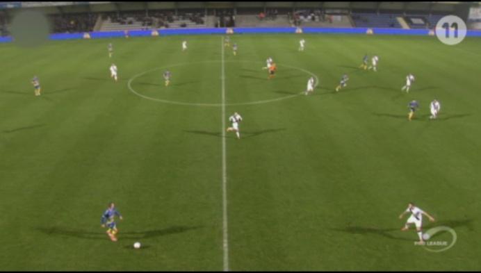 Westerlo kan niet winnen van 10 spelers Roeselare